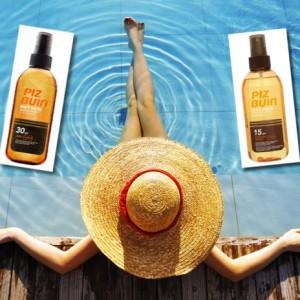 Tipos de spray Piz Buin Wet Skin